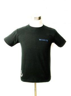画像1: Tシャツ アクアマリン ブラック S